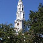 church steple. Beautiful architecture everywhere