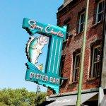 Sorry Charlies oyster bar restaurant on same street as Paula Deens. We only ate at Paula Deens.