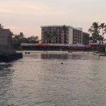 Hotel as seen from the Kona Pier.
