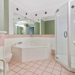 Spacious bathrooms, 20 with deep soaking bath or Sap baths