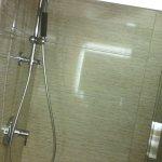 shower inside bathoom
