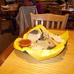 Tortilla Flats, Cerrillos Rd, Santa Fe, NM. NICE Chips and Salsa