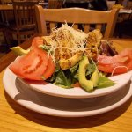 Tortilla Flats, Cerrillos Rd, Santa Fe, NM. NICE Chicken Salad.