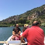 Dalyan River crossing in row boats - great experience!