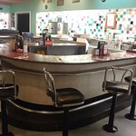"""Old Fashioned """"U counter"""" seating"""