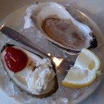 Damariscotta Maine oyster on the menu!