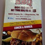 Very friendly and welcoming staff. Good BBQ.