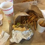 Yummy!  Burger and fries to the core! Way better then the west coast competition (I & O) and as