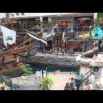 West Edmonton mall.   Fun nature show