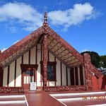 Another Maori meeting house near where we had lunch