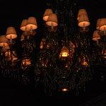 chandelier in M Bistro