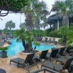 Galvez Hotel poolside, Galveston, TX