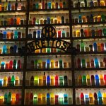 Colorful interior decor in Brettos Ouzo Bar!