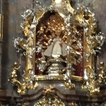 Infant of Prague at the Church of Our Lady Victorious