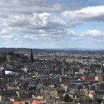 Skyline and Edinburgh Castle