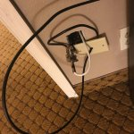 Great wiring job, Days Inn!