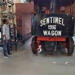 Train Engine Display