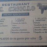Photo de Parrilla El Criollo