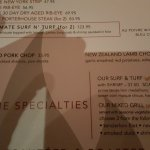 A very delicious place to eat, one of us have the 32oz bone in ribeye, he said best steaks he ha