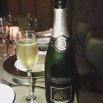 Free champagne pairing