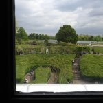 Over looking the gardens from Kensington Palace