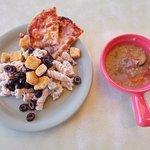 Souper Salad, Cerrillos Rd, Santa Fe NM. Soup and Salad.