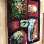 Bento w/ Salmon (Robata)