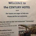 Century Hotel Foto