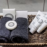 Beautiful bathroom amenities to enjoy during your stay