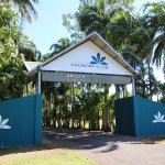 The front entrance to Kununurra Country Club Resort.