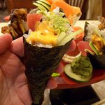 Spicy Tuna Hand Roll - one of my favorites
