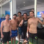 Team Photo following the Advanced Free Diver Course