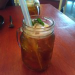 Minty Frothy Tea (Rp. 12.700)