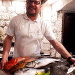 Kind and charming owner Ivan recomended fish for grill. A top hit.