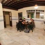 Casa Piratas communal dining and social area