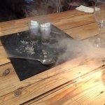 Granita (smoked sorbet)