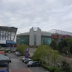 Taken from our bedroom window with view of Old Trafford