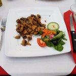 Fried mushroom (antipasti)