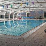 piscina cubierta climatizada