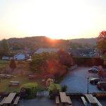 Sunrise over the Gardens