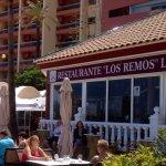 Restaurant opposite Sunset Beach Club
