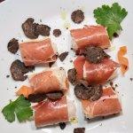 Dalmatian prosciutto with Zadar truffle