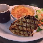 'Simply grilled chicken' with a mac 'n' cheese upgrade!