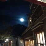 Full Moon rising - View from the Foyer