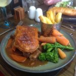 Lamb and beef casserole