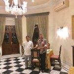 With Junior Sous Chef Saurabh Mathur