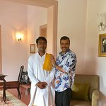 With Kishore Kumar Pathak