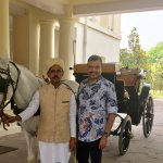With Mohammad Naseem &, Munna(Horse)