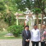 With Tamal Chatterjee& Chauffeur Mata Prasad