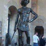 A study of two David's - Verrocchio